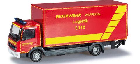 Herpa 091435 Грузовой автомобиль MB AT´04 KoLKW m. LBW