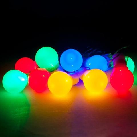 Светодиодная гирлянда Feron CL119 «Яркие цветные шарики», длина 30000 мм, цвет свечения мультиколор