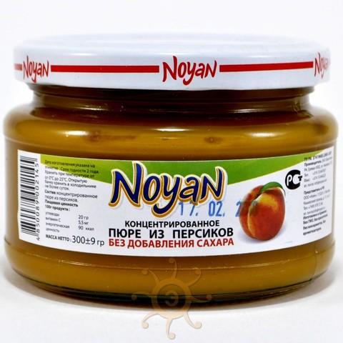 Пюре из персиков без сахара Noyan, 300г