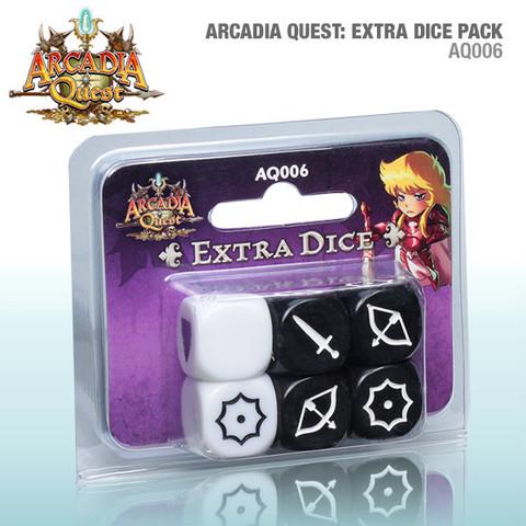 Arcadia Quest: Extra dice Pack