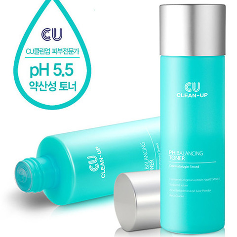 Тонер Выравнивающий pH Баланс CUSKIN CLEAN-UP pH Balancing Toner