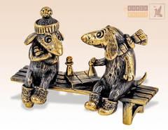 Собаки с шахматами