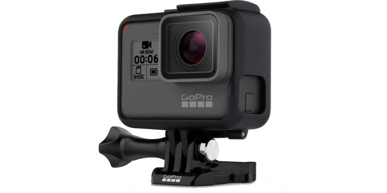Крепление-рамка GoPro The Frame для HERO6 и HERO5 Black (AAFRM-001) с камерой