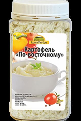 Картофель по-восточному в ПЭТ-банке 'Здоровая еда'