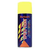 Краска аэрозольная Barton's Spray Paint ЖЕЛТАЯ глянец RAL1018 520 мл (16шт/кор)