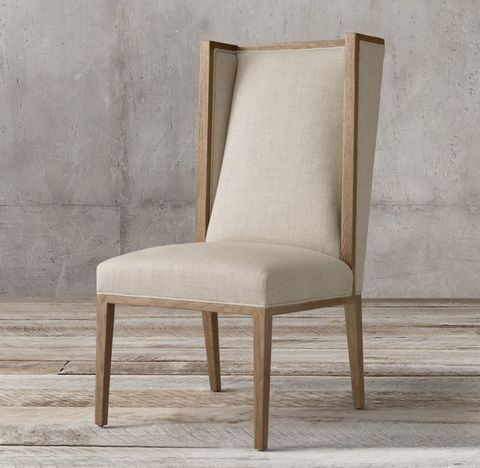 Durant Wingback Fabric Side Chair