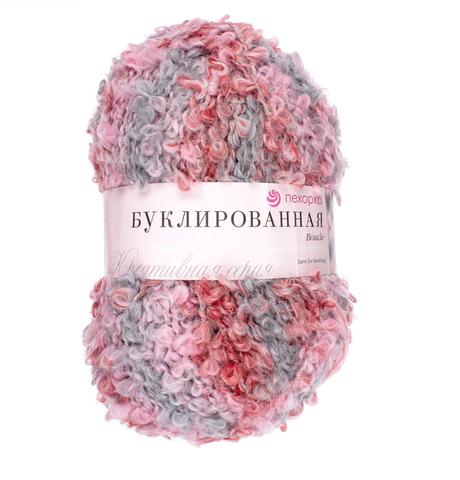 Пехорка Буклированная серо-розовый 1117 М
