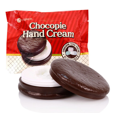Крем для рук Chocopie Hand Cream Marshmallow от the Saem