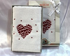 AMAUR - АМАУР полотенце махровое в коробке Maison Dor Турция
