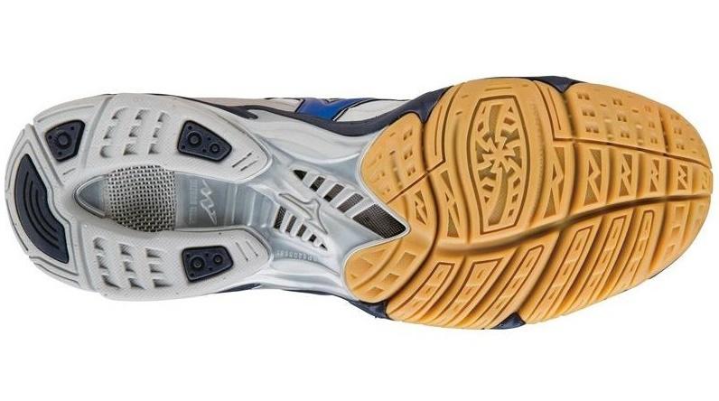 Мужские волейбольные кроссовки Mizuno Wave Bolt 4 Mid (V1GA1565 24) с высоким голеностопом