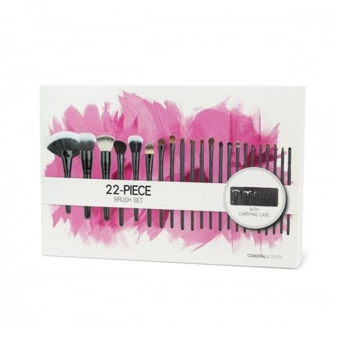 Набор из 22 кистей Coastal Scents 22 Piece Brush Set