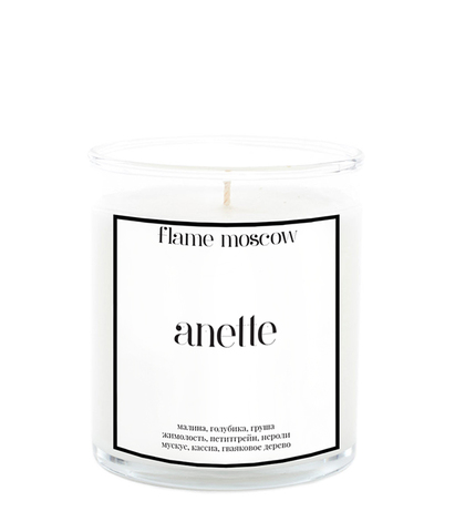 Свеча ароматическая в стекле Anette, Flame
