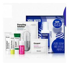 Dr.Jart+ Peptidin Blue Energy Serum 6PCS Set Limited - Подарочный набор из 6 средств (голубой)