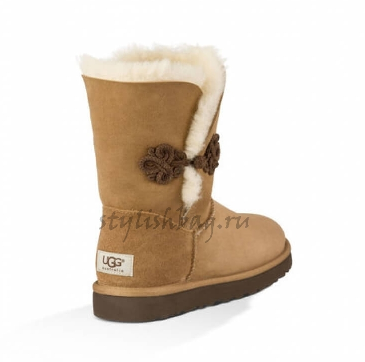 Женские угги UGG Short Bailey Mariko Chestnut
