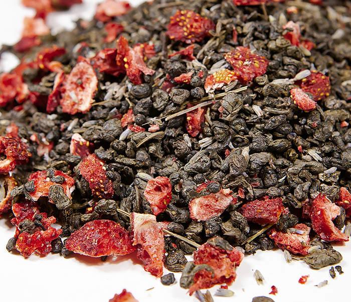 TEA-AR130 Натуральный чай «Лавандовый Ган» с клубникой (50 гр)