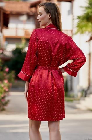 Халат женский красный MIA Amore  DOROTHY ДОРОТИ 8703