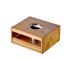 Подставка для подогрева чайника свечей, бамбуковая