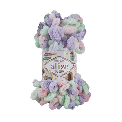 Купить Пряжа Alize Puffy Color Код цвета 5938 | Интернет-магазин пряжи «Пряха»
