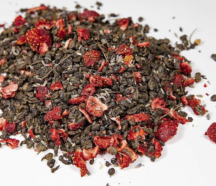 TEA-AR130 Натуральный чай «Лавандовый Ган» с клубникой (50 гр) фото 02