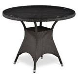 Плетеный стол T220CBT-W52-D96 Brown