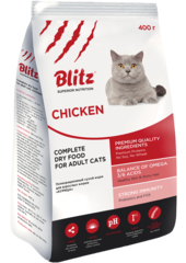 Сухой корм Blitz For Adult Cats Chicken