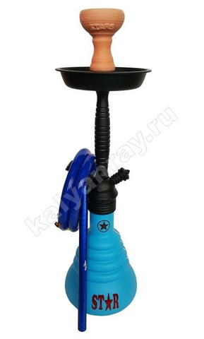 Amy 4 Star 410 psmbk-bu  чёрный матовый, голубой
