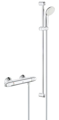 GRT 1000 New Термостат для душа с душевым гарнитуром Tempesta New II, 900 мм