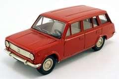 VAZ-2102 Lada red (metal bottom) Agat Tantal Made in USSR 1:43