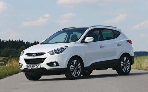 Защита фар для Hyundai IX 35 2010- прозрачная, 2 части, EGR (214070)