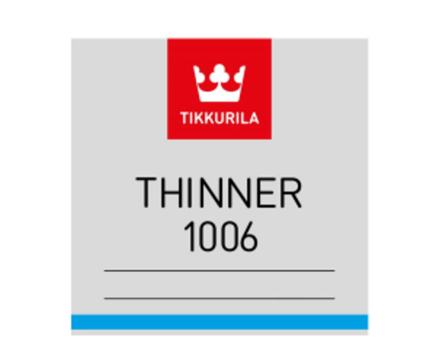 Tikkurila Thinner 1006 / Тиккурила 1006 растворитель разбавитель для красок