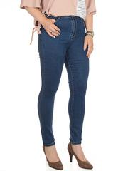 009 джинсы женские, синие