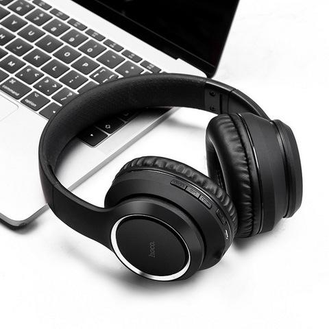 Наушники Bluetooth HOCO W28 Journey Hi-Res, black