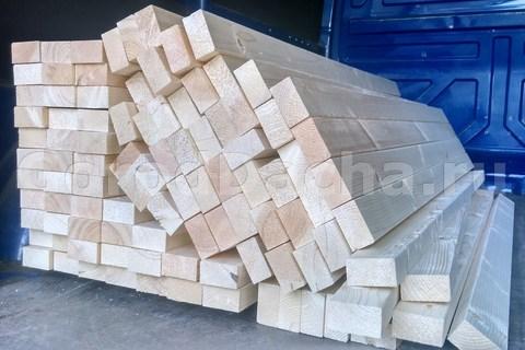 Деревянные бруски для скамеек