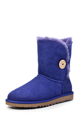 Угги UGG Bailey Button Bling Navy