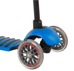 Самокат детский от 3 лет Yvolution Glider Deluxe синий