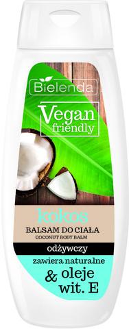 VEGAN FRIENDLY Питательный бальзам для тела, кокос, 400 мл