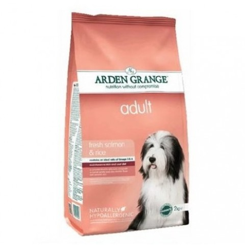 ARDEN GRANGE ADULT DOG SALMON & RICE 12 кг