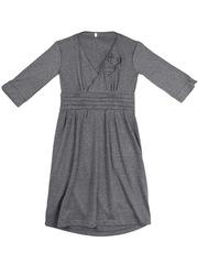 X122 платье серое
