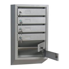Ящик почтовый К_КП- 6 секц. почтовый ящик 380x190x685