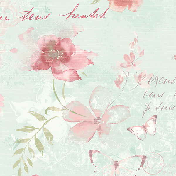 Обои Aura Abby Rose AB42430, интернет магазин Волео
