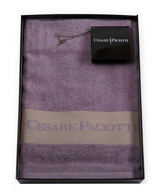 Набор полотенец 2 шт Cesare Paciotti Downtown сиреневый