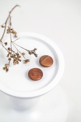 Деревянные пуговицы  18 мм