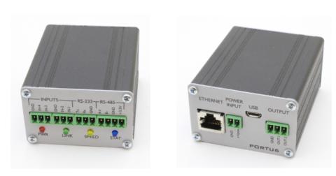 Portu6 RS232/485/GPIO-Ethernet, конвертер интерфейсов