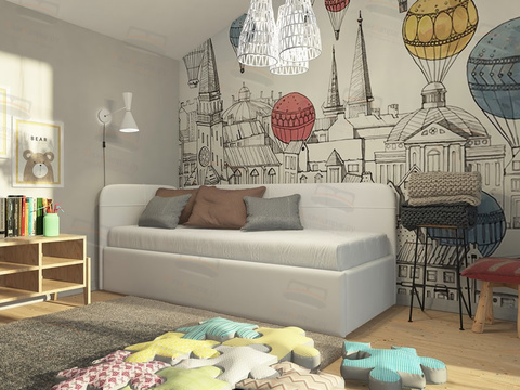 Кровать Райтон Life Junior софа с подъёмным механизмом