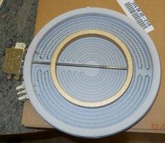 Конфорка 2200w с зоной расширения для электроплит ЭЛЕКТРОЛЮКС / Занусси / АЕГ 3740640010