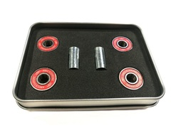 Подшипники Techteam ABEC 9 / 4 шт, металлическая упаковка