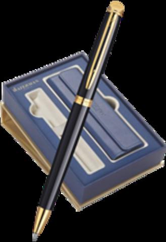 Подарочный набор с чехлом и шариковой ручкой  Waterman Hemisphere Mars цвет: Black GT