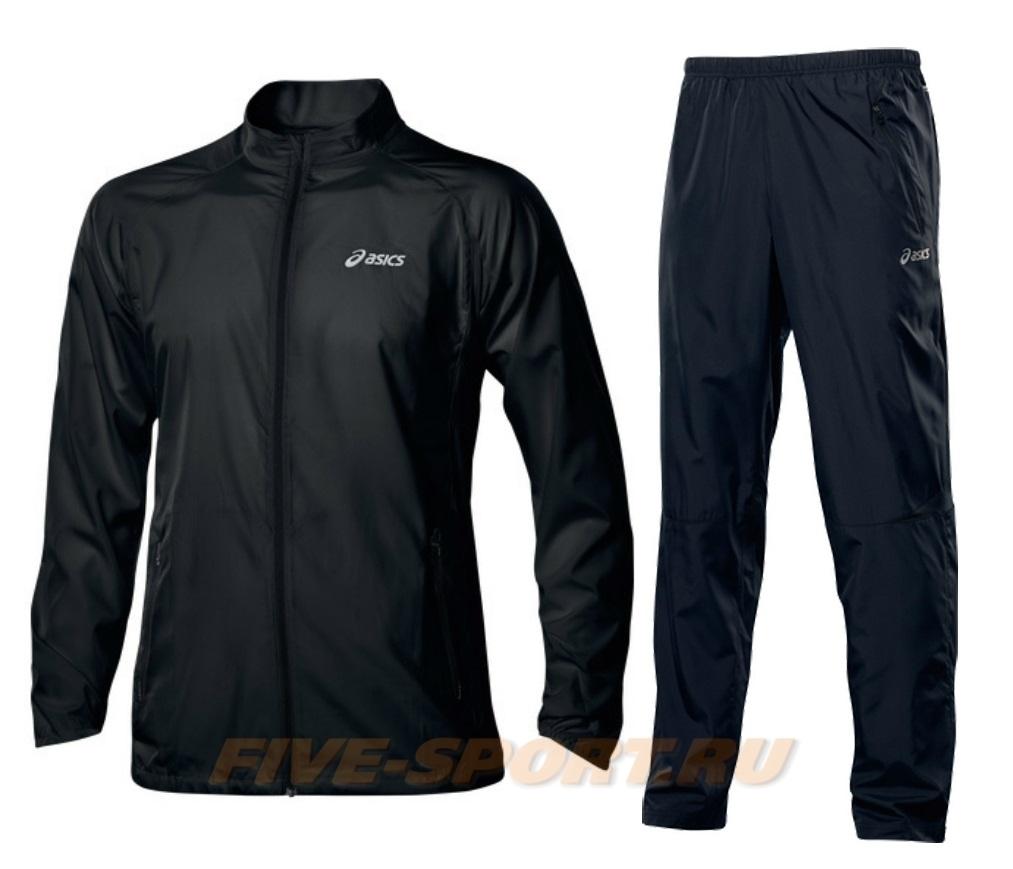 Мужской костюм для бега Asics Woven Black (110411 0904-110418 0904)