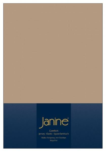 На резинке Простыня на резинке 140-160x200 Janine Elastic-Jersey 5002 коричневая elitnaya-prostynya-na-rezinke-elastic-jersey-5002-korichnevo-bezhevaya-ot-janine-germaniya.jpg