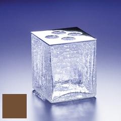 Стакан для зубных щеток Windisch 83128OV Cracked Crystal